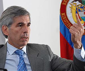 Yesid Reyes, Ministro de Justicia de Colombia. (Foto: Archivo)