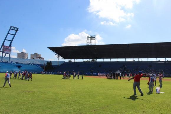 Luis Giraldo Casanova dio cátedra en el Left Field.