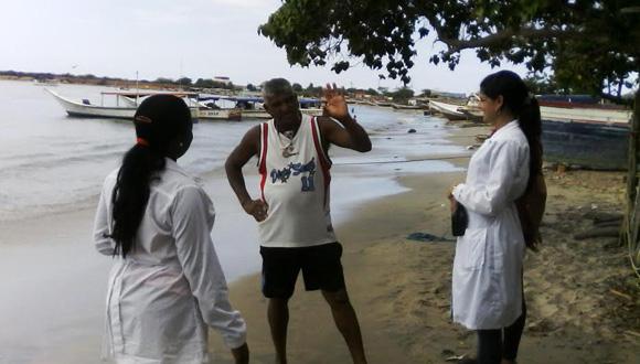 Médicos cubanos en La Perla