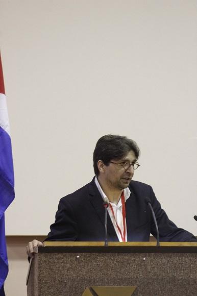 Francisco Sierra, presidente electo de ULEPCC. Foto: José Raúl Concepción/Cubadebate.