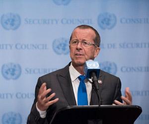 Martin Kobler, representante de las Naciones Unidas para Libia. Foto: Kim Haughton/ONU.