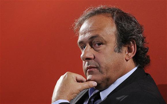 Platini sólo emitió un comunicado al conocer la suspensión. Foto: Gonzalo Fuentes/Reuters.