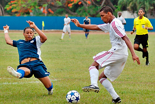Nicaragua derrotó a Cuba 1-0. Foto: Juventud Rebelde.
