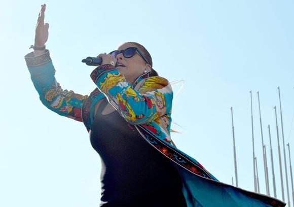 Olga Tañon en Concierto en la Habana 1