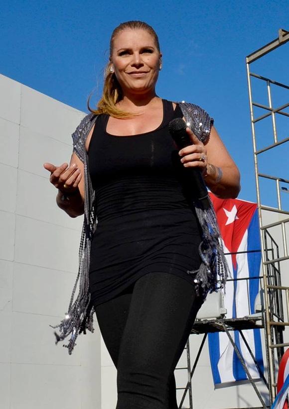 Olga Tañon en Concierto en la Habana 2