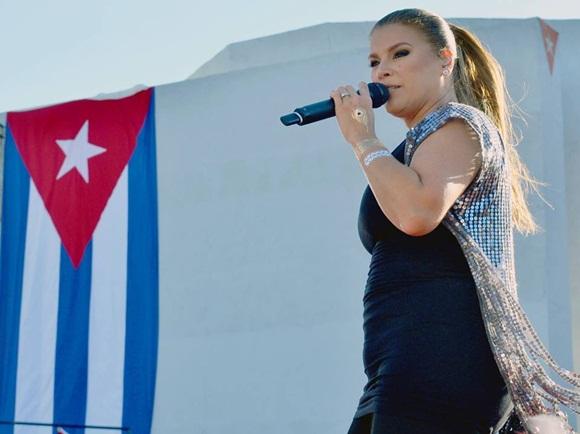 Olga Tañon en Concierto en la Habana 5