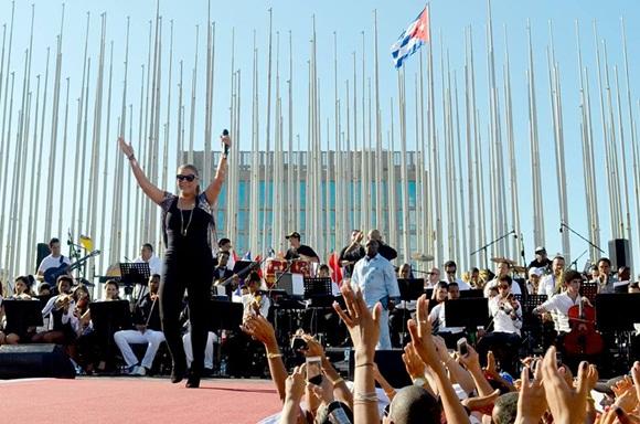 Olga Tañon en Concierto en la Habana