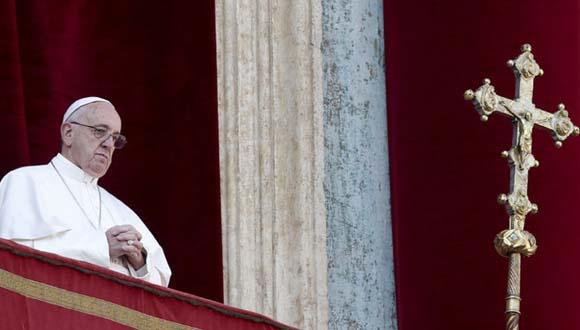 Mensaje navideño del Papa llama a la concordia y la paz entre los pueblos
