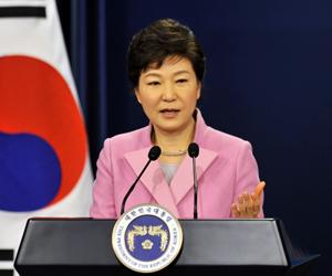 Park Geun-Hye, presidenta surcoreana. (Foto: Archivo)