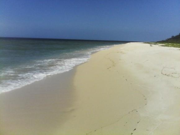 Playa El Francés, en el Cabo de San Antonio, Pinar del Río. Foto Harold Pérez Padrón / Cubadebate