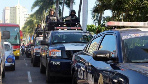 Policia de Guerrero. Foto: Tomada de www.eluniversal.com.mx