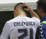 Rafael Benitez y Denis Cheryshev