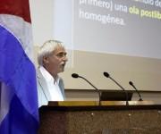 EL español Ramón Zallo inauguró la jornada de ICOM-2015 con su conferencia magistral. Foto José Raúl Concepción/ Cubadebate.