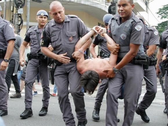 Represión Sao Paulo