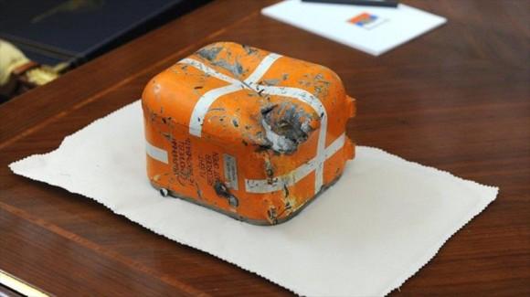 La llamada caja negra es por lo general de color naranja. Foto: Mikhail Klimentyev/Sputnik.
