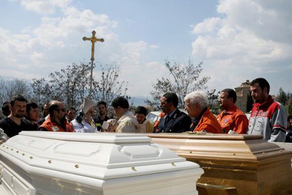 La mortalidad en Italia sorprende a los demógrafos del país. Foto: AFP.