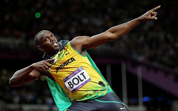 Bolt empata con Sotomayor como máximo ganador en la encuesta de Prensa Latina con cinco años cada uno. Foto: Michael Steele/Getty Images.