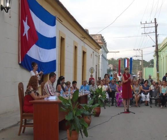 Acto oficial de nombramiento de las Charangas de Bejucal como Patrimonio.