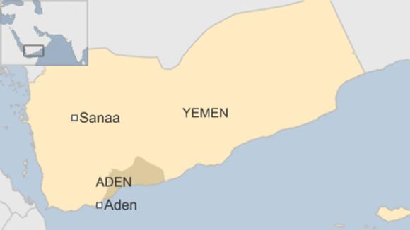 Adén, ciudad de Yemen.