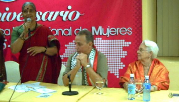 Antonio Guerrero, presente en la actividad por los 70 años de constituida la FDIM. (Foto: Mariela Pérez Valenzuela)