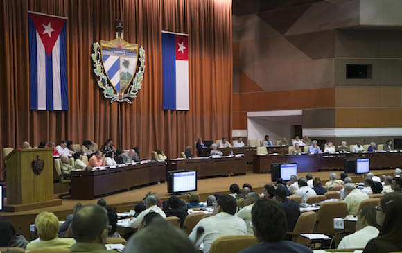 Lina Pedraza Rodríguez, ministra de Finanzas y Precios. Foto: Ismael Francisco/ Cubadebate