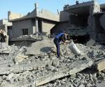 ataque aereo estadounidense a ciudad iraqui de faluya