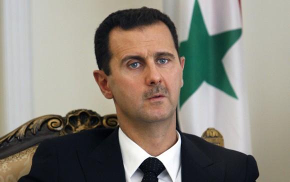Bashar al Assad. Foto tomada de laotraandalucia.org