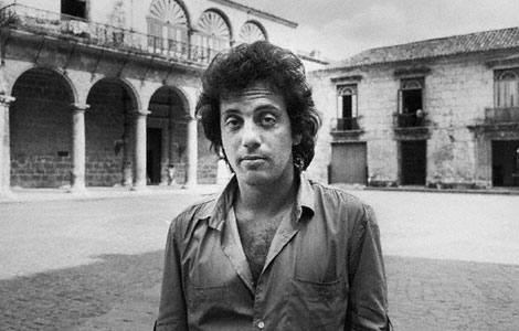 Billy Joel en la Plaza de la Catedral.