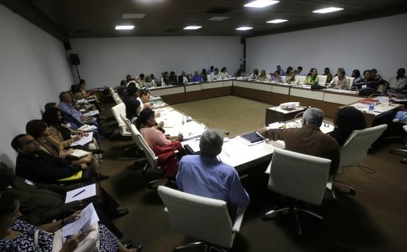 Trabajo en Comisiones de la Asamblea Nacional del Poder Popular. Asuntos Constitucionales y Juridicos. Foto: Ismael Francisco/Cubadebate.