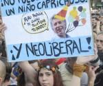 """""""Malcriado"""", así llamaría en Cuba esta muchacha al nuevo presidente argentino. Foto: Kaloian/Cubadebate."""