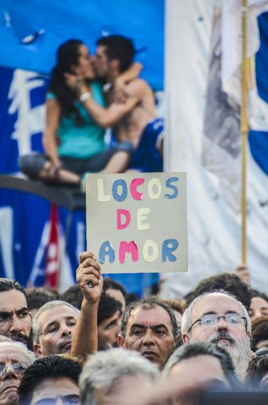 De amor a Argentina, de eso están locos. Foto: Kaloian/Cubadebate.
