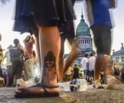 No, Macri, no vas a caminar por encima de la ley de medios. Foto: Kaloian/Cubadebate.