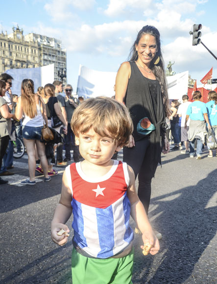 Cuba también inspira a Argentina. Foto: Kaloian/Cubadebate.
