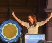 Despedidad de Cristina Fernández de Kirchner en Plaza de Mayo. Foto: Kaloian/Cubadebate.
