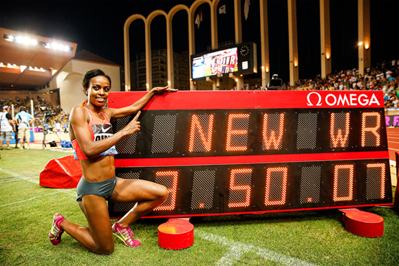 Genzebe Dibaba.