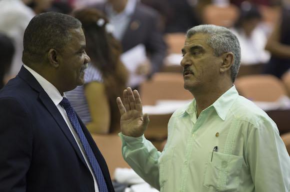 Los diputados a la Asamblea Nacional del Poder Popular, sesionan hoy en plenario en el Palacio de las Convenciones. Foto: Ismael Francisco/ Cubadebate