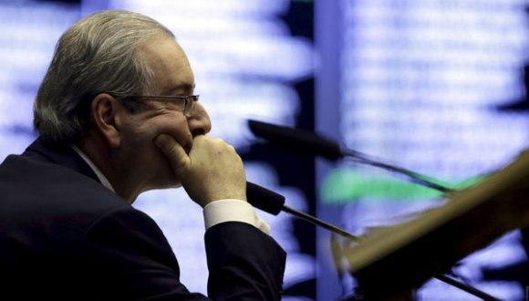 El presidente del Congreso, Eduardo Cunha, es uno de los impulsores del juicio político contra la presidenta Dilma Rousseff. Foto: emol.com.