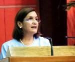 Ministra del CITMA, Elba Rosa Pérez.