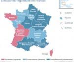 Elecciones regionales en Francia.