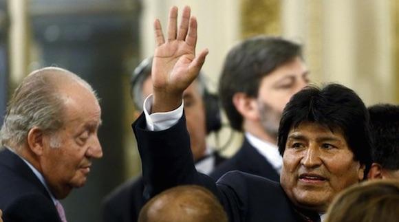 El presidente Evo Morales asistió ayer en Buenos Aires a la investidura del presidente argentino, Mauricio Macri. Foto: Reuters
