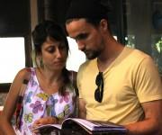 Marco Gómez, diseñador de Enfoco. Foto: Paola/Cubadebate.