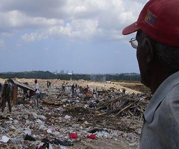 El basurero de calle 100 (Foto de la autora)