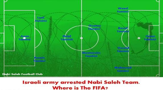 Fuerzas de Seguridad israelíes dejan sin jugadores a equipo de fútbol palestino