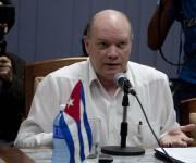Greg Abbott, Gobernador de Texas, se reúne con el Ministro Rodrigo Malmierca, en La Habana. Foto: Ismael Francisco/ Cubadebate