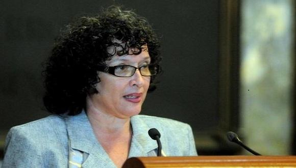 Hilda Saladrigas Medina, presidenta del Comité Académico del VIII Encuentro Internacionales de investigadores y estudiosos de la información y la comunicación.