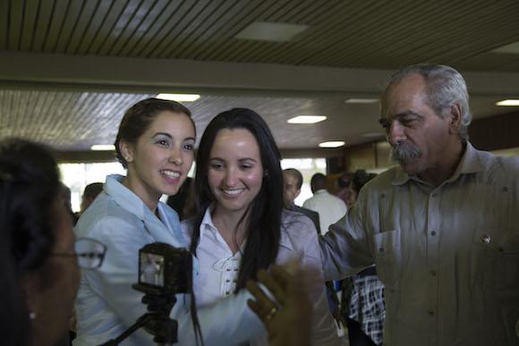 Elegida nuevo miembro del Consejo de Estado. Foto: Ismael Francisco/ Cubadebate