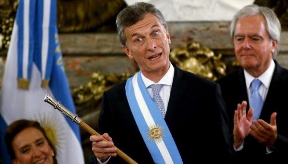 Asumió Mauricio Macri la presidencia de Argentina