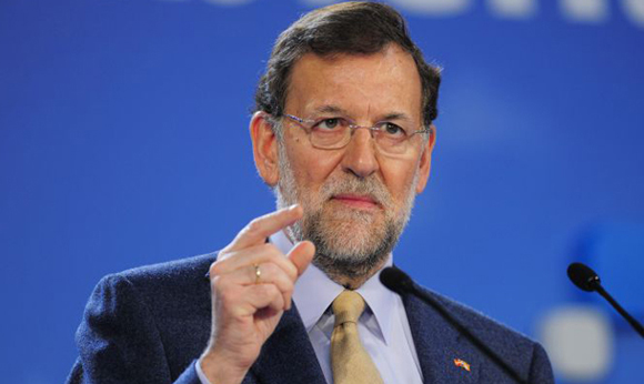 Mariano Rajoy, líder del PP, tendrá que llegar a un consenso con otra fuerza política si quiere continuar gobernando en España. Fotot tomada de El Mundo Today,