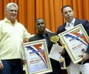 Manrique larduet mejor atleta del año en Cuba.  Foto: Ismael Francisco/Cubadebate.