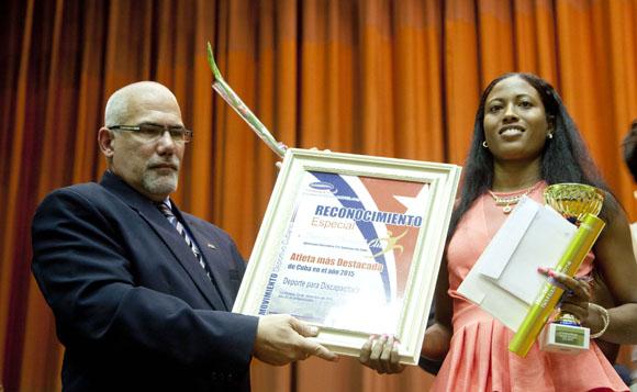 Omara Durand, Mejor atleta discapacitada de Cuba. Foto: Ismael Francisco / Cubadebate